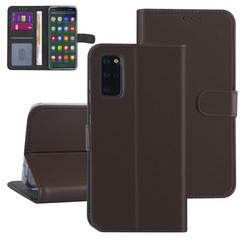 Samsung Galaxy S20 Plus Bruin Booktype hoesje - Kaarthouder