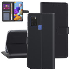 Samsung Galaxy A21S Black Book type case - Card holder