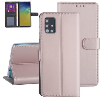 Samsung Galaxy A31 Rose Gold Booktype hoesje - Kaarthouder