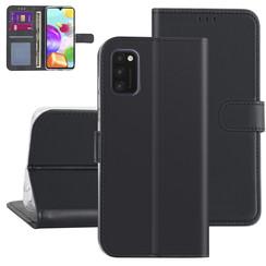 Samsung Galaxy A41 zwart Booktype hoesje - Kaarthouder