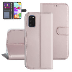 Samsung Galaxy A41 Rose Gold Booktype hoesje - Kaarthouder