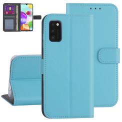 Samsung Galaxy A41 Lichtblauw Booktype hoesje - Kaarthouder