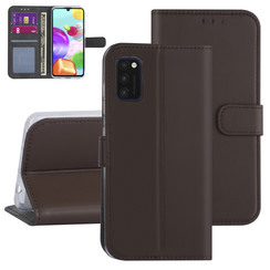 Samsung Galaxy A41 Brown Book type case - Card holder