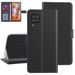 Huawei Huawei P40 Lite zwart Booktype hoesje - Kaarthouder