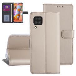 Huawei Huawei P40 Lite Gold Book type case - Card holder
