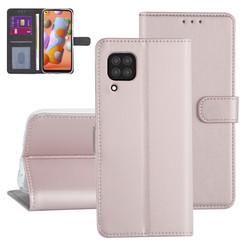 Huawei Huawei P40 Lite Rose Gold Book type case - Card holder