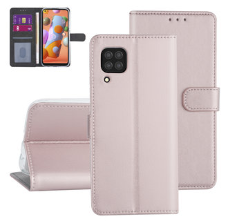 Huawei Huawei P40 Lite Rose Gold Book type case - Card holder