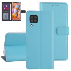 Huawei Huawei P40 Lite L blauw Booktype hoesje - Kaarthouder