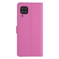 Huawei Huawei P40 Lite Felroze Booktype hoesje - Kaarthouder