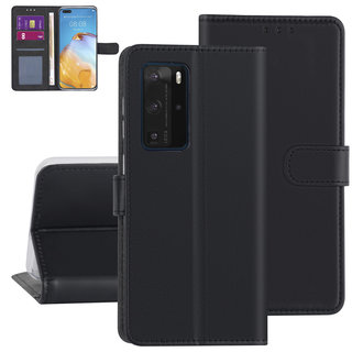 Huawei Huawei P40 Pro Black Book type case - Card holder