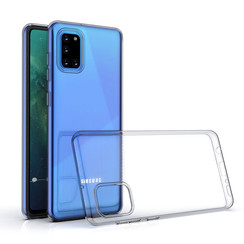 Samsung Galaxy A31 Transparent Back cover case - Silicone