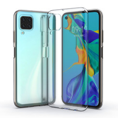 Huawei Huawei P40 Lite Transparent Back cover case - Silicone