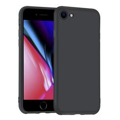 Uniq accessory Apple iPhone 7-8 Black Back cover case - Silicone
