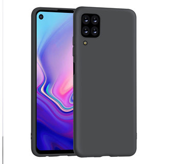 Uniq accessory Huawei Huawei P40 Lite Black Back cover case - Silicone