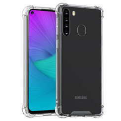 Samsung Galaxy A21 Transparant Backcover hoesje - silicone
