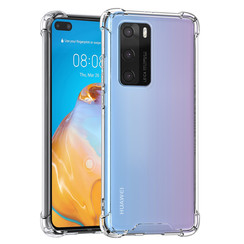Uniq accessory Huawei Huawei P40 Transparent Back cover case - Silicone