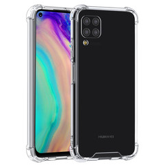Huawei P40 Lite Transparant Backcover hoesje - silicone