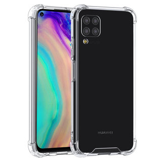 Huawei P40 Lite Transparent Back cover case - Silicone