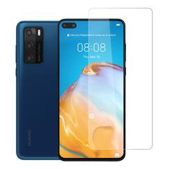 Huawei P40 Transparant Screenprotector - Gehard glas