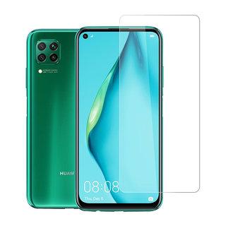 Huawei P40 Lite Transparent Smartphone screenprotector - Tempered glass