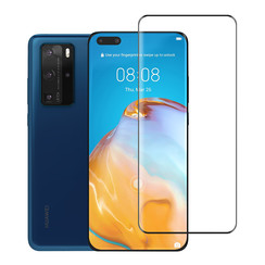 Huawei P40 Pro Transparent Smartphone screenprotector - Tempered glass