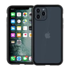 Apple iPhone 11 Pro zwart Backcover hoesje - Glas en metaal
