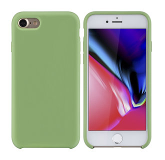 Apple iPhone 7-8 Licht groen Backcover hoesje - silicone