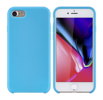 Apple iPhone 7-8 Lichtblauw Backcover hoesje - silicone