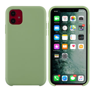 Uniq accessory Apple iPhone 11 Light Green Back cover case - Silicone