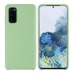 Uniq accessory Samsung Galaxy S20 Light Green Back cover case - Silicone