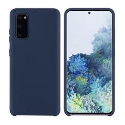 Uniq accessory Samsung Galaxy S20 Deep Blue Back cover case - Silicone