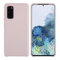 Uniq accessory Samsung Galaxy S20 Sand Pink Back cover case - Silicone