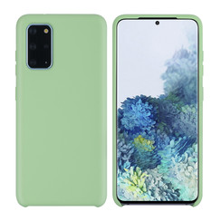 Samsung Galaxy S20 Plus Licht groen Backcover hoesje - silicone