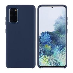 Samsung Galaxy S20 Plus Diepblauw Backcover hoesje - silicone