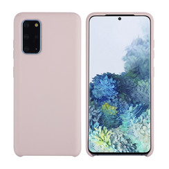 Samsung Galaxy S20 Plus Sand Pink Backcover hoesje - silicone