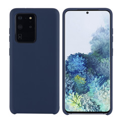 Uniq accessory Samsung Galaxy S20 Ultra Deep Blue Back cover case - Silicone