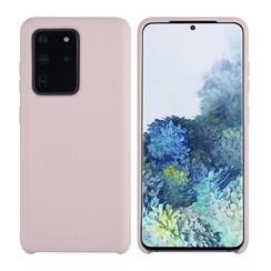 Uniq accessory Samsung Galaxy S20 Ultra Sand Pink Back cover case - Silicone