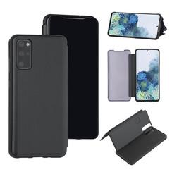 Uniq accessory Samsung Galaxy S20 Plus Black Book type case - Hard plastic