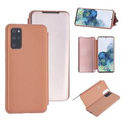 Uniq accessory Samsung Galaxy S20 Plus Rose Gold Book type case - Hard plastic