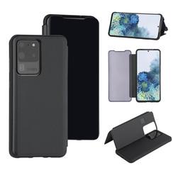 Samsung Galaxy S20 Ultra zwart Booktype hoesje - Hard plastic