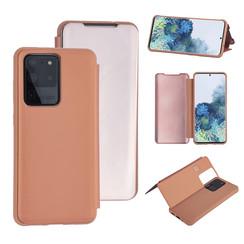Uniq accessory Samsung Galaxy S20 Ultra Rose Gold Book type case - Hard plastic