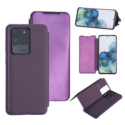 Uniq accessory Samsung Galaxy S20 Ultra Purple Book type case - Hard plastic