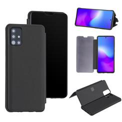Uniq accessory Samsung Galaxy A51 Black Book type case - Hard plastic