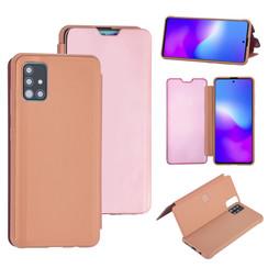 Uniq accessory Samsung Galaxy A51 Rose Gold Book type case - Hard plastic