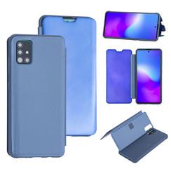 Uniq accessory Samsung Galaxy A51 Light Blue Book type case - Hard plastic