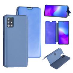 Uniq accessory Samsung Galaxy A71 Light Blue Book type case - Hard plastic