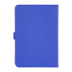 Universal 10 inch Deep Blue Book Case Tablet - PU Leather