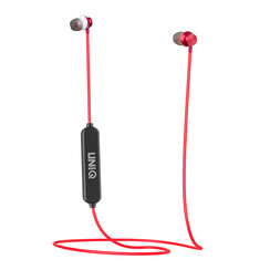 UNIQ Accessory Col wireless bluetooth neckband earphones - Red