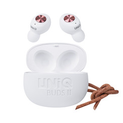 UNIQ Buds ll kabellose TWS-Ohrhörer mit Ladebox - Weiß