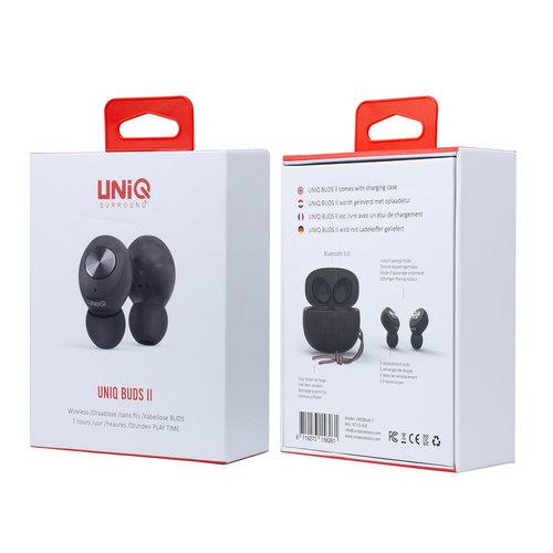 UNIQ Accessory UNIQ Buds ll wireless TWS earphones with charging case - Black